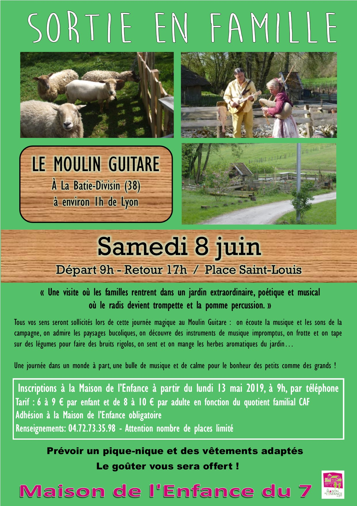 19 fly sortie moulin guitare